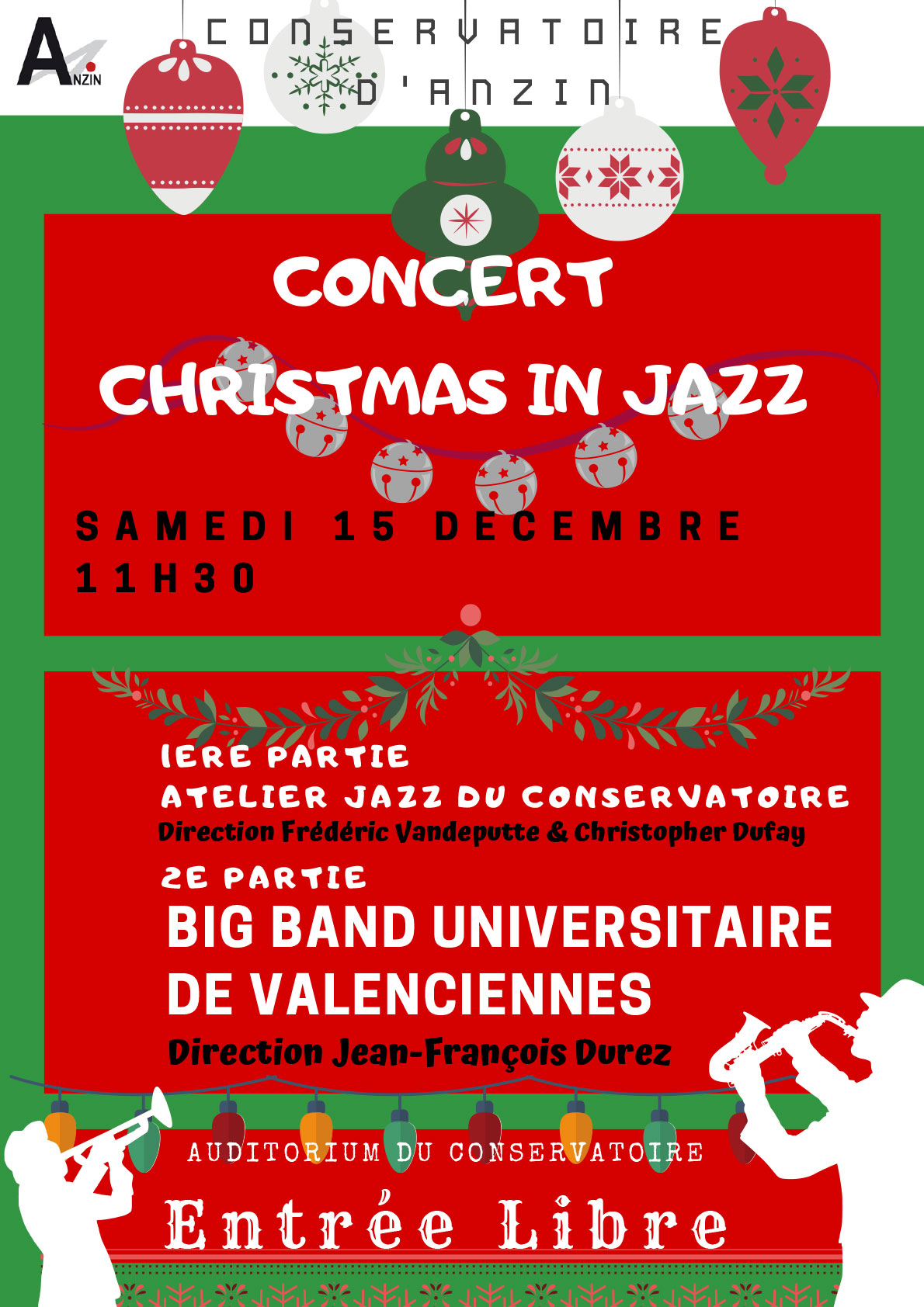 Concert Christmas in jazz